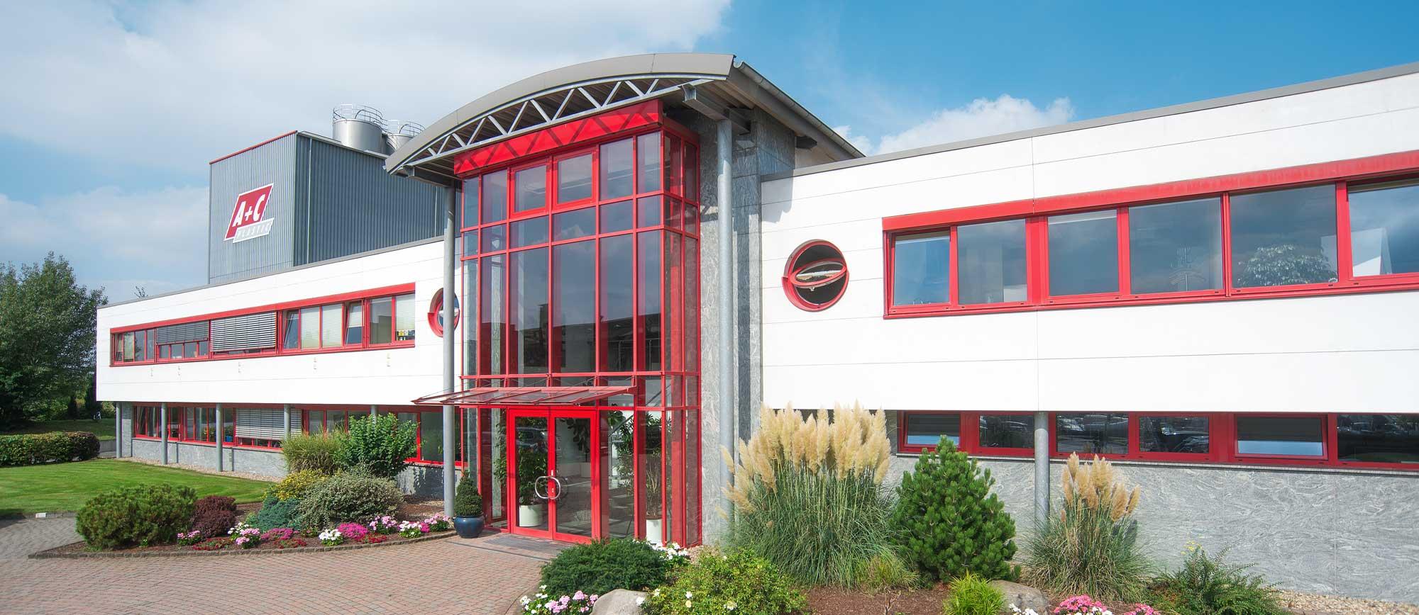 A+C Plastic Firmengebäude